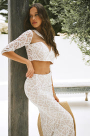 Majesty Lace Top