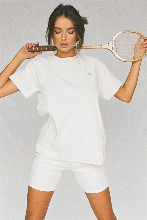 Mellow Tee - White