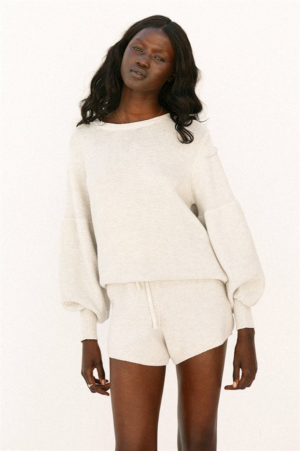 SAMPLE-Slate Knit Top