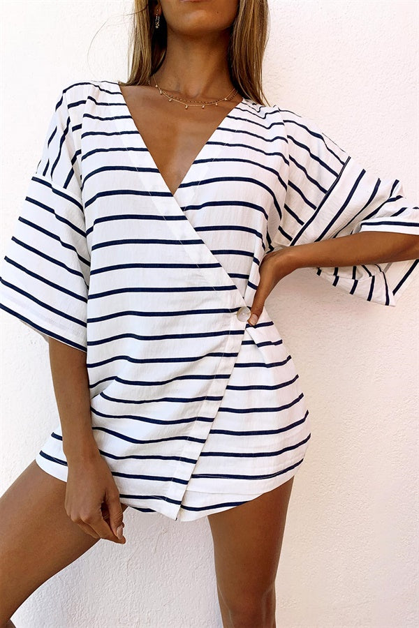 Wyatt Top - Stripe