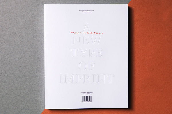 A New Type of Imprint Magazine Volume 4 - Bestellen bei LOREM (not Ipsum) - Bern (Schweiz)