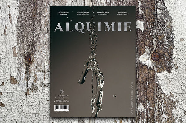 Alquimie Magazine Edition Eight – Bestellen bei LOREM (not Ipsum) in Zürich (Schweiz)