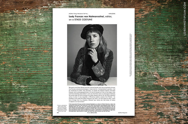 AnOther Magazine Issue 3 – Bestellen bei LOREM (not Ipsum) in Zürich (Schweiz)