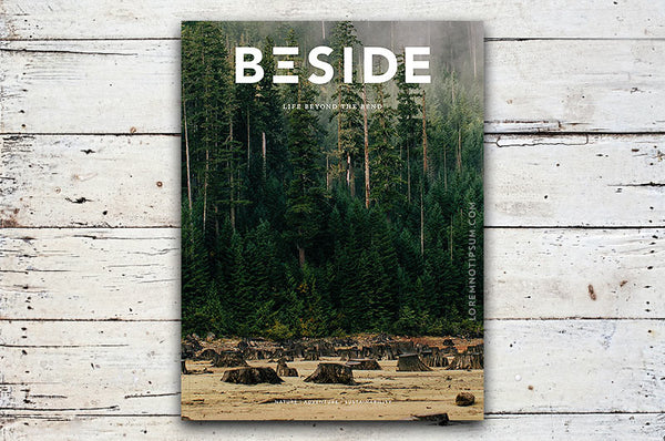 BESIDE Magazine Issue 2 – Bestellen bei LOREM (not Ipsum) in Zürich (Schweiz)