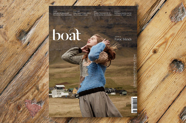 Boat Magazine Issue 12 (Faroe Islands) – Bestellen bei LOREM (not Ipsum) in Zürich (Schweiz)