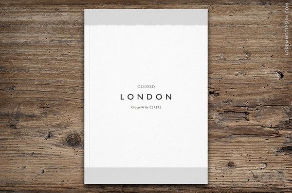 London City Guide by Cereal - Bestellen bei LOREM (not Ipsum) - Bern (Schweiz)