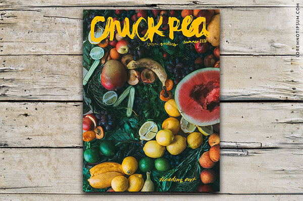 Chickpea Magazine Issue 20 (Summer 2016) – Bestellen bei LOREM (not Ipsum) in Zürich (Schweiz)