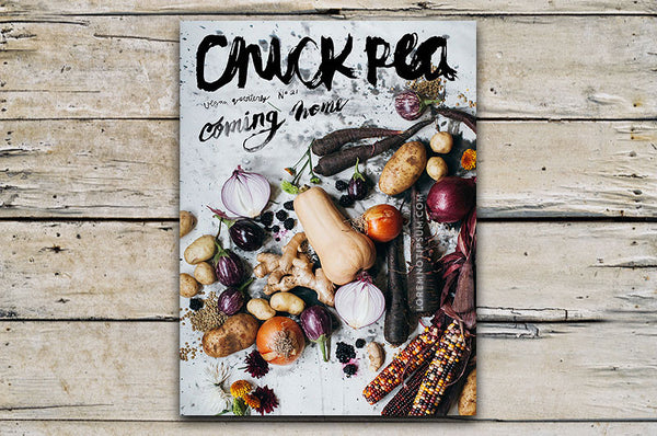 Chickpea Magazine Issue 21 (Fall 2016) – Bestellen bei LOREM (not Ipsum) in Zürich (Schweiz)