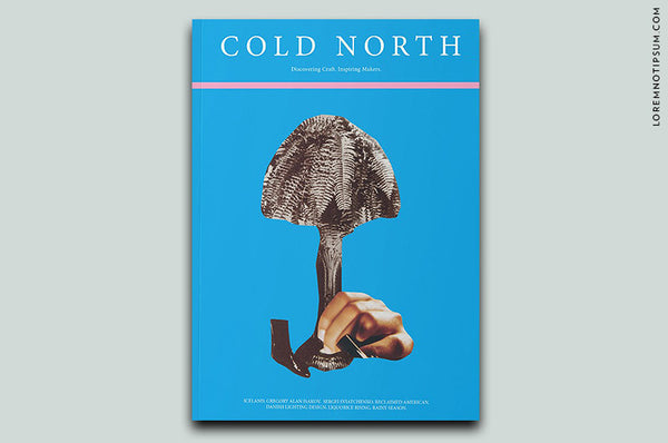 Cold North Magazine Issue 2 - Bestellen bei LOREM (not Ipsum) - Bern (Schweiz)
