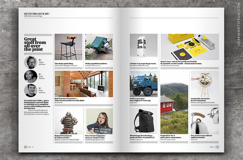 Collect Magazine – Issue 8 – loremnotipsum.com