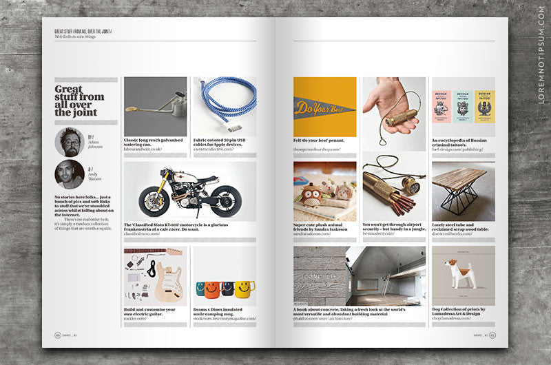 Collect Magazine – Issue 10 – loremnotipsum.com