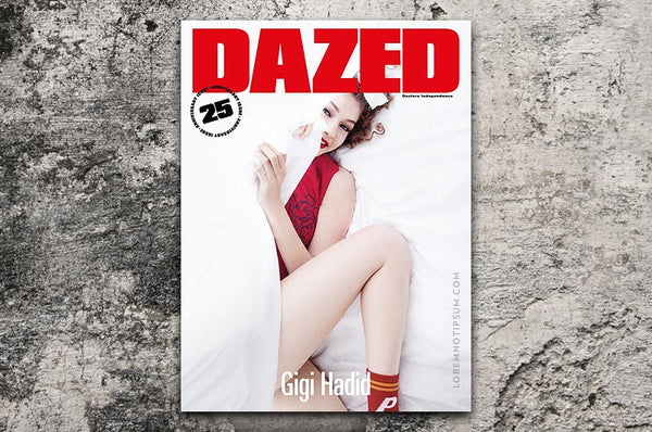 Dazed & Confused Magazine (Autumn/Winter 2016) – Bestellen bei LOREM (not Ipsum) in Zürich (Schweiz)