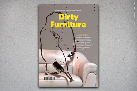 Dirty Furniture Issue 1/6 (Couch) – Bestellen bei LOREM (not Ipsum) in Zürich (Schweiz)
