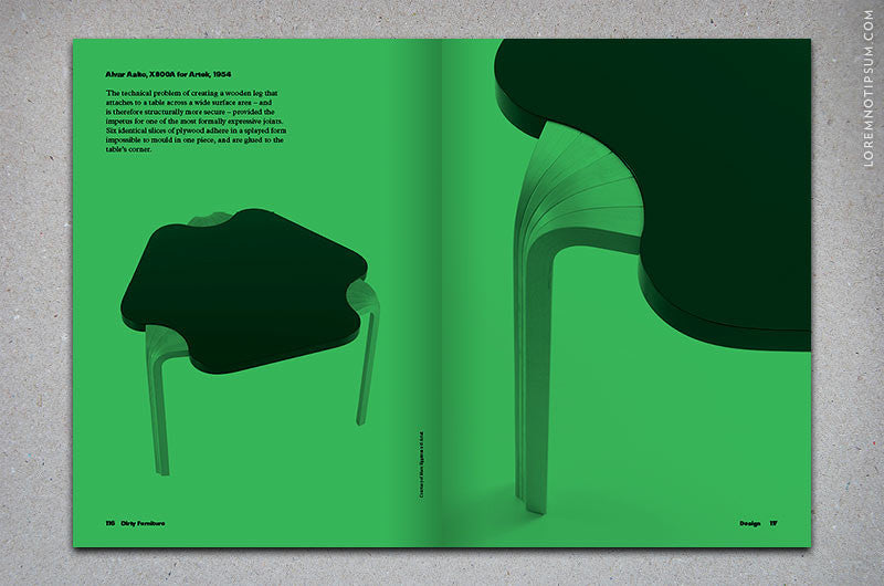 Dirty Furniture Magazine Issue 2 – Bestellen bei LOREM (not Ipsum) in Zürich (Schweiz) – loremnotipsum.com