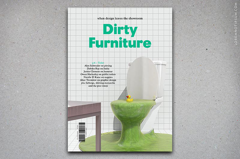 Dirty Furniture Issue 3/6 (Toilet)