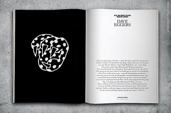Four and Sons Magazine Issue 1 - Bestellen bei LOREM (not Ipsum) - Bern (Schweiz)