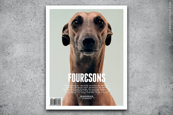 Four and Sons Magazine Issue 3 - Bestellen bei LOREM (not Ipsum) - Bern (Schweiz)