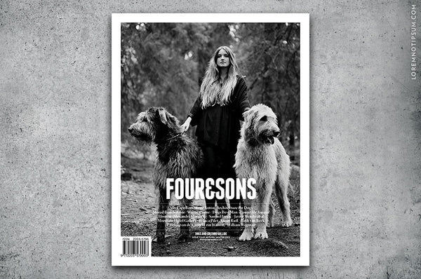 Four and Sons Magazine Issue 4 - Bestellen bei LOREM (not Ipsum) in Zürich (Schweiz)