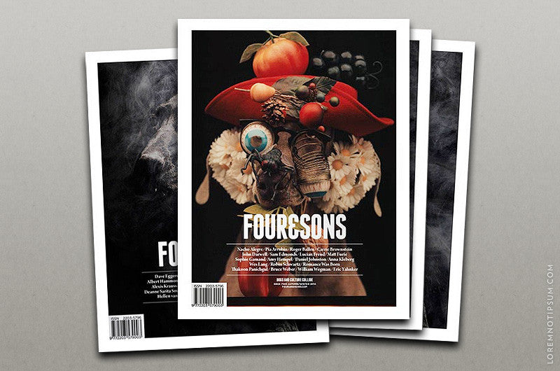 Abonnement Four and Sons Magazine - Bestellen bei LOREM (not Ipsum) - Bern (Schweiz)