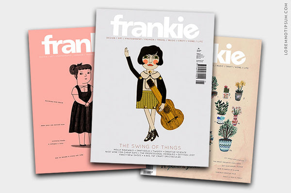 Frankie Magazine Bundle – Issue 51, 53 und 54