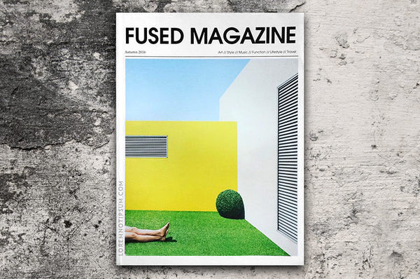 Fused Magazine (Autumn 2016) – Bestellen bei LOREM (not Ipsum) in Zürich (Schweiz)