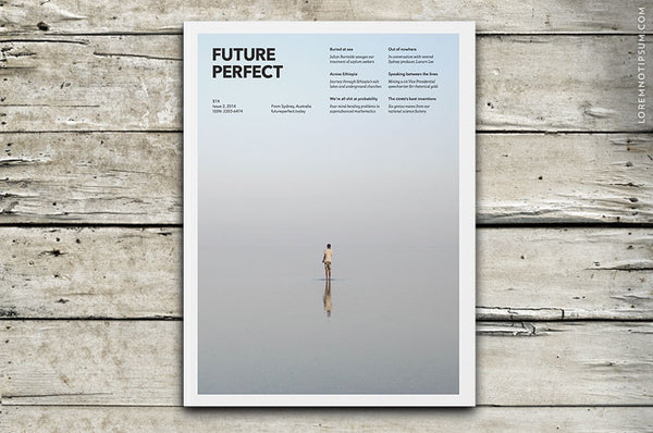 Future Perfect Issue 2 – Bestellen bei LOREM (not Ipsum) in Zürich (Schweiz)