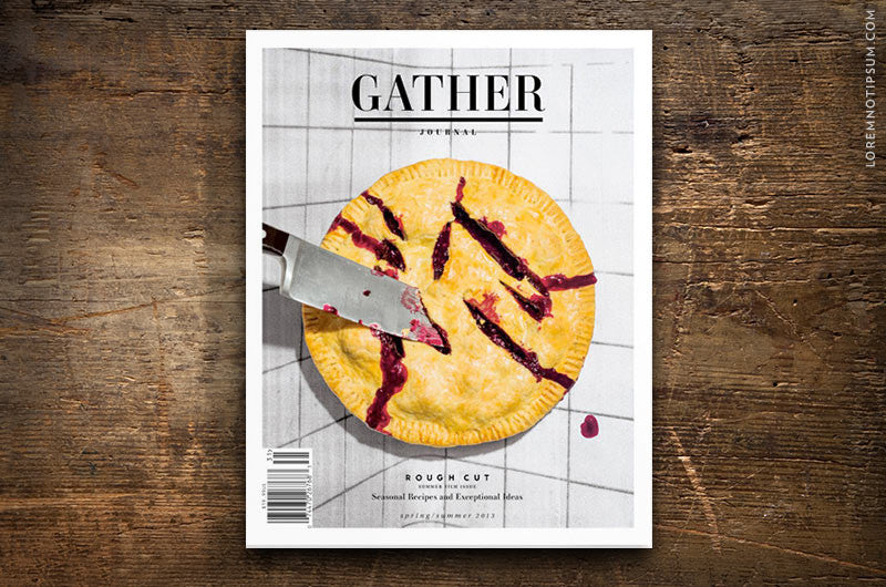 Gather Journal Issue 3 - Bestellen bei LOREM (not Ipsum) - Bern (Schweiz) – loremnotipsum.com