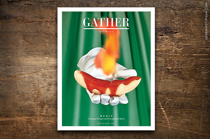 Gather Journal Issue 6 - Bestellen bei LOREM (not Ipsum) - Bern (Schweiz)