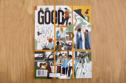 GOOD Magazine Issue 31 - Bestellen bei LOREM (not Ipsum) - Bern (Schweiz)