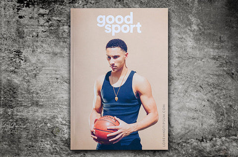 Good Sport Magazine Issue 1 – Bestellen bei LOREM (not Ipsum) in Zürich (Schweiz)