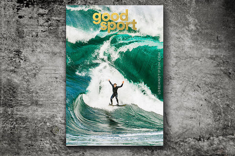 Good Sport Magazine Issue 2 – Bestellen bei LOREM (not Ipsum) in Zürich (Schweiz)