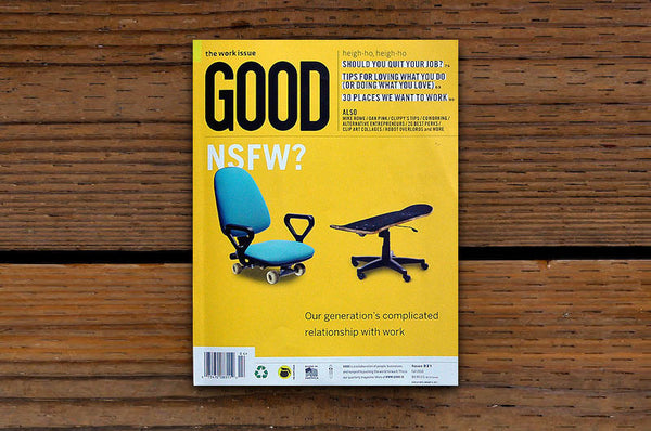 GOOD Magazine Issue 21 - Bestellen bei LOREM (not Ipsum) - Bern (Schweiz)