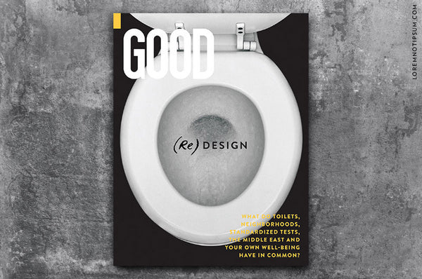 GOOD Magazine Issue 30 - Bestellen bei LOREM (not Ipsum) - Bern (Schweiz)