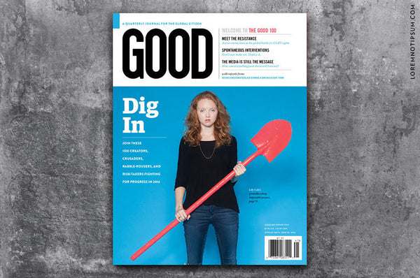 GOOD Magazine Issue 32 - Bestellen bei LOREM (not Ipsum) - Bern (Schweiz)