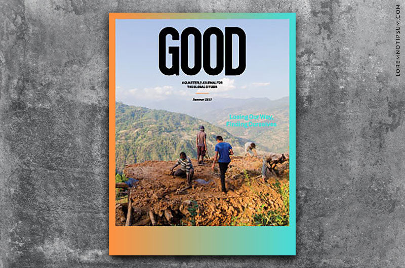 GOOD Magazine Issue 34 – Bestellen bei LOREM (not Ipsum) in Zürich (Schweiz)