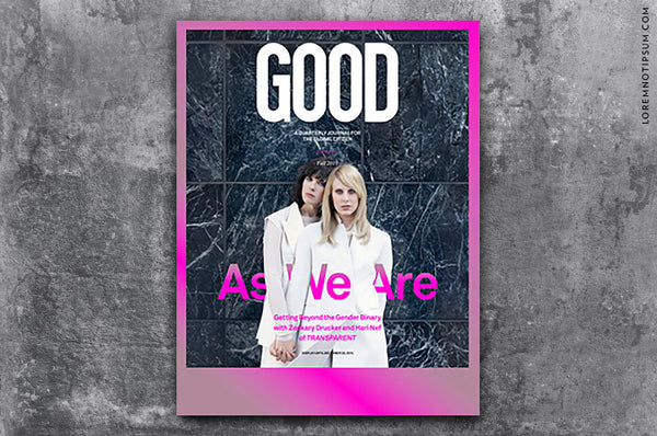 GOOD Magazine Issue 35 – Bestellen bei LOREM (not Ipsum) in Zürich (Schweiz)