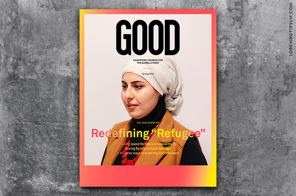 GOOD Magazine Issue 36 – Bestellen bei LOREM (not Ipsum) in Zürich (Schweiz)