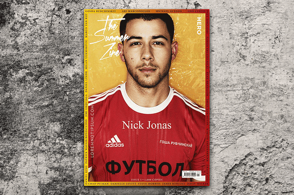 HERO Summer Zine (Limited Edition) with Nick Jonas – Bestellen bei LOREM (not Ipsum) in Zürich (Schweiz)