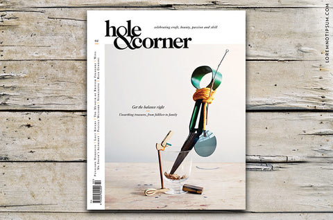 Hole & Corner Magazine Issue 2 bestellen bei LOREM (not Ipsum) in Bern (Schweiz)