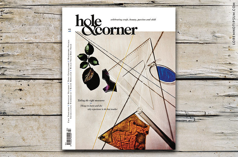 Hole & Corner Magazine Issue 3 bestellen bei LOREM (not Ipsum) in Bern (Schweiz)