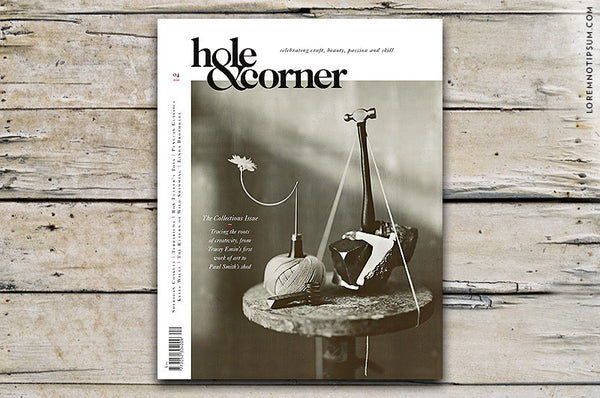 Hole & Corner Magazine Issue 4 bestellen bei LOREM (not Ipsum) in Bern (Schweiz)