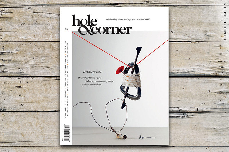 Hole & Corner Magazine Issue 5 – Bestellen bei LOREM (not Ipsum) in Bern (Schweiz)