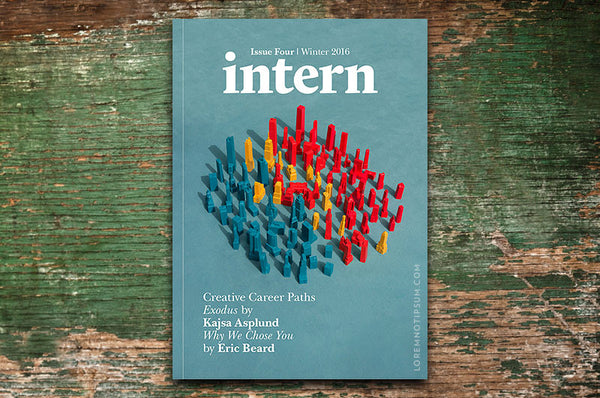 Intern Magazine Issue 4 – Bestellen bei LOREM (not Ipsum) in Zürich (Schweiz)