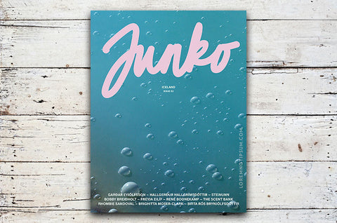 Junko Journal Issue 2 (Iceland) – Bestellen bei LOREM (not Ipsum) in Zürich (Schweiz)