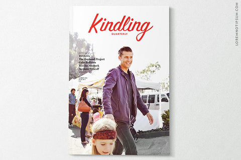 Kindling Quarterly Issue 5 - Bestellen bei LOREM (not Ipsum) - Bern (Schweiz)