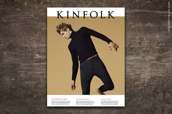 Kinfolk Magazine Issue 19 - Bestellen bei LOREM (not Ipsum) in Zürich (Schweiz)