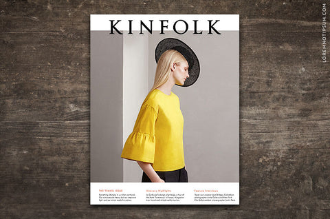 Kinfolk Magazine Issue 20 – Bestellen bei LOREM (not Ipsum) in Zürich (Schweiz)