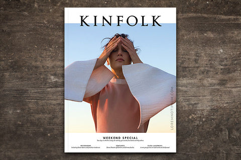 Kinfolk Magazine Issue 23 – Bestellen bei LOREM (not Ipsum) in Zürich (Schweiz)