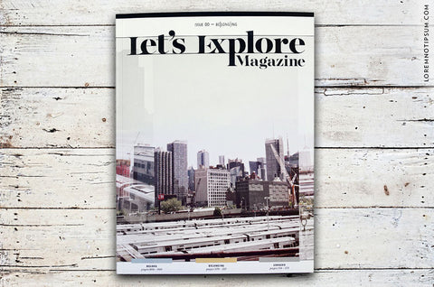 Let's Explore Magazine Issue 0 – Bestellen bei LOREM (not Ipsum) in Zürich (Schweiz)