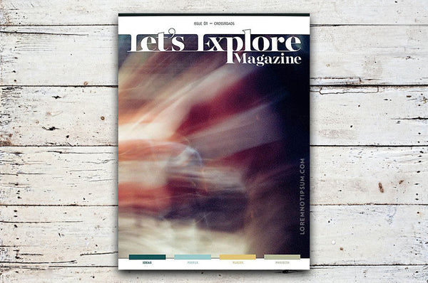 Let's Explore Magazine Issue 1 – Bestellen bei LOREM (not Ipsum) in Zürich (Schweiz)